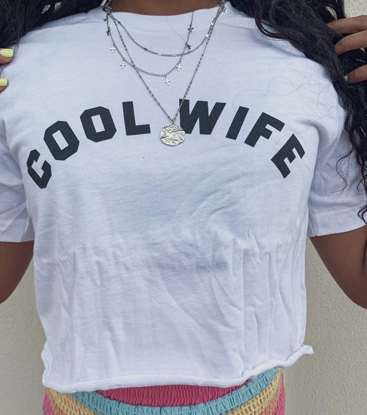 &merci Style #Cool Wife Crop